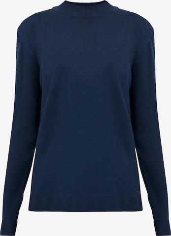 Finn Flare Pullover in Blau