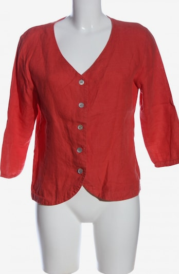 Maas Hemd-Bluse in M in rot, Produktansicht