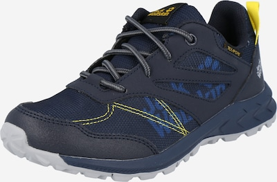 JACK WOLFSKIN Low shoe in blue / yellow, Item view