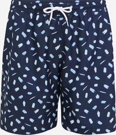 s.Oliver Red Label Big & Tall Ujumispüksid sinine / helesinine / valge, Tootevaade