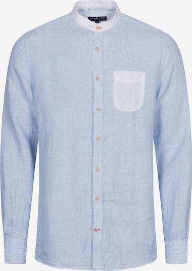 COLOURS & SONS Langarmhemd 'Louis' in blau, Produktansicht