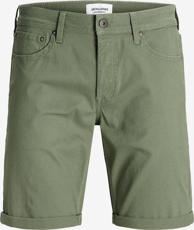 Jack & Jones Junior Jeansshorts in grün, Produktansicht