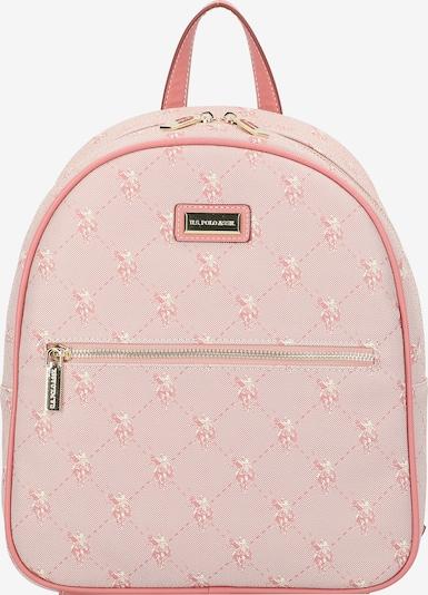 U.S. POLO ASSN. Rucksack in gold / pink, Produktansicht