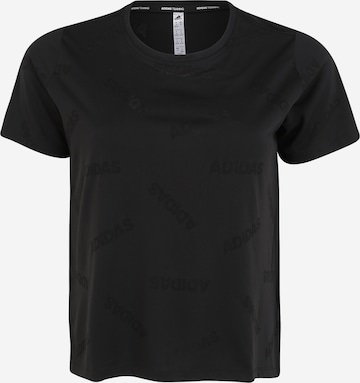 ADIDAS PERFORMANCE Sport-Shirt in Schwarz