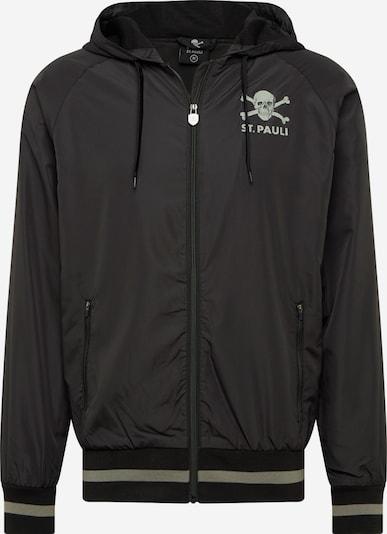 FC St. Pauli Sportjas in de kleur Grijs / Zwart, Productweergave