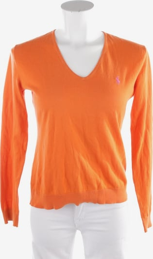 POLO RALPH LAUREN Pullover / Strickjacke in M in orange, Produktansicht