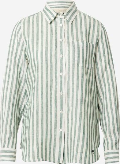 Weekend Max Mara Bluzka 'GUINEA' w kolorze nakrapiany zielony / białym, Podgląd produktu