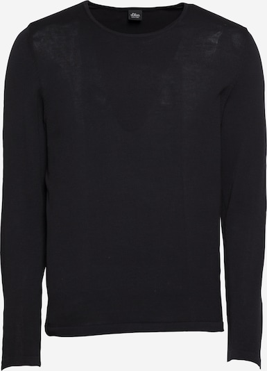 s.Oliver BLACK LABEL Pull-over en noir, Vue avec produit
