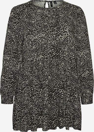 Vero Moda Curve Tunika, krāsa - melns / balts, Preces skats