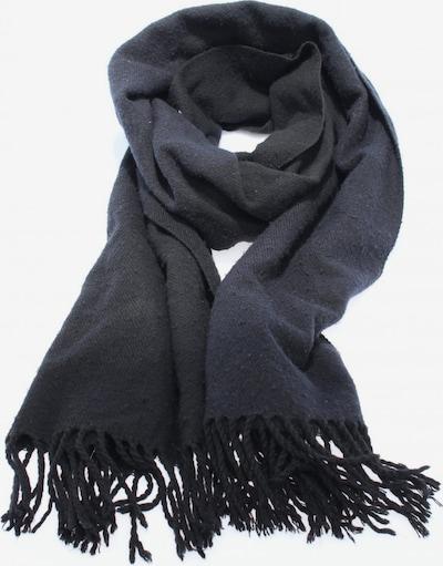 WEEKDAY Fransenschal in One Size in blau / schwarz, Produktansicht