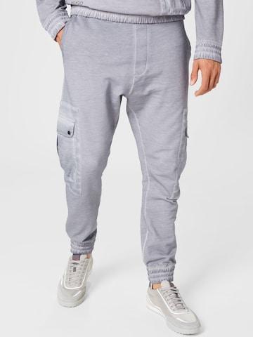 Pantalon cargo 'Dordons' HUGO en gris