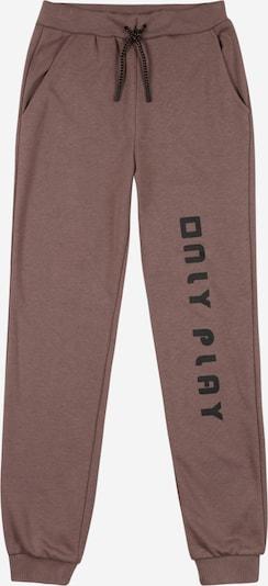 Pantaloni 'ONPJANAY' KIDS ONLY di colore marrone / nero, Visualizzazione prodotti