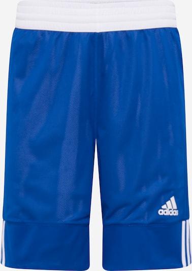Sportinės kelnės iš ADIDAS PERFORMANCE , spalva - mėlyna / balta, Prekių apžvalga