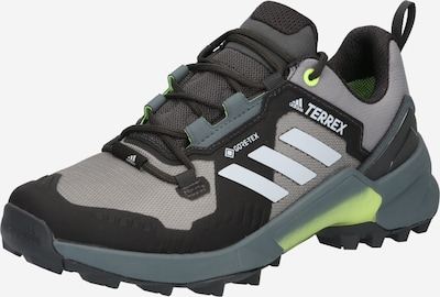 adidas Terrex Wanderschuh 'SWIFT R3 GTX' in grau / neongrün / schwarz, Produktansicht