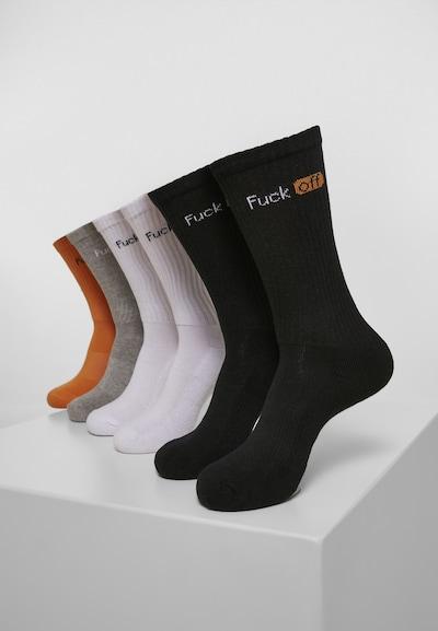 Mister Tee Sokken 'Fuck Off Socks 6-Pack' in de kleur Gemengde kleuren, Productweergave