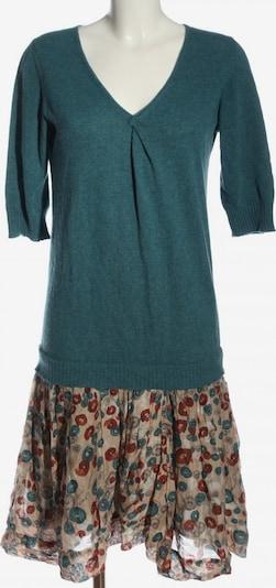 Manila Grace Langarmkleid in S in blau / pink / wollweiß, Produktansicht