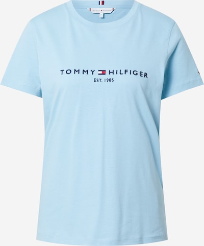 TOMMY HILFIGER T-Krekls kamuflāžas / debeszils / sarkans / balts, Preces skats
