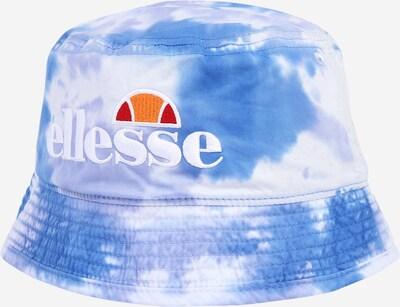 ELLESSE Шапка с периферия в синьо / бяло, Преглед на продукта
