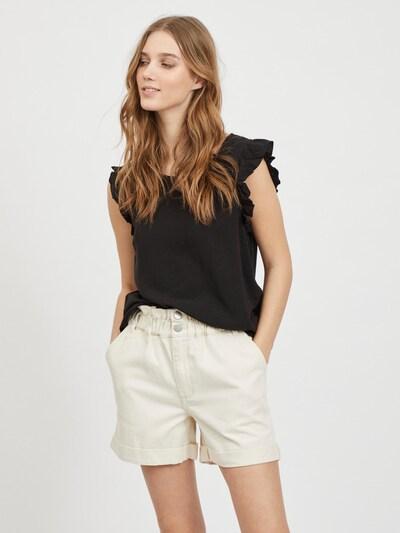 VILA Bluse 'Ellie' i sort, Modelvisning