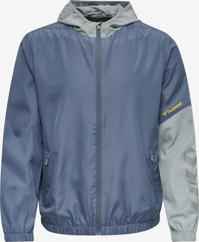 Hummel Sportsweatvest in de kleur Duifblauw / Lichtblauw, Productweergave