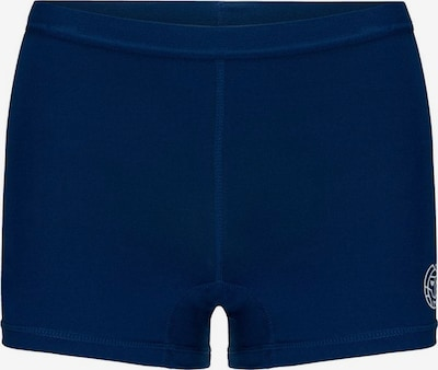 BIDI BADU Shorty Mallory Tech mit dezentem Logo-Motiv in blau, Produktansicht