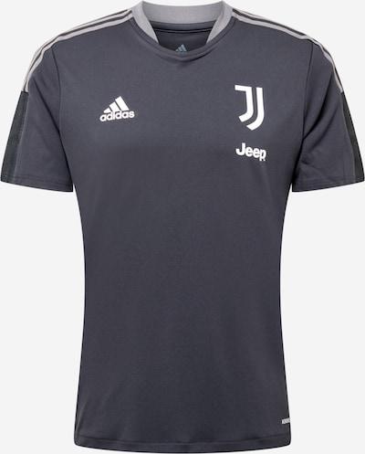 ADIDAS PERFORMANCE Koszulka funkcyjna 'JUVE TR' w kolorze szary / białym, Podgląd produktu