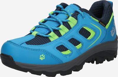 JACK WOLFSKIN Chaussures basses en bleu ciel / vert fluo / noir, Vue avec produit