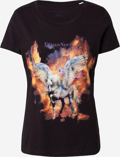 EINSTEIN & NEWTON T-Krekls 'Einhorn', krāsa - jauktu krāsu / melns, Preces skats