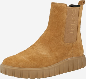 ESPRIT Chelsea Boots in Brown