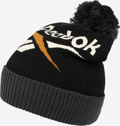 Reebok Classic Mütze in goldgelb / dunkelgrau / schwarz / weiß, Produktansicht