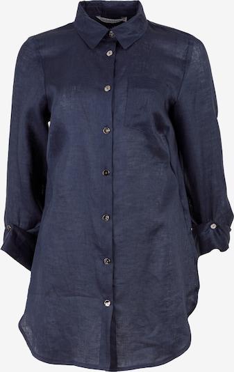 HELMIDGE Langarmbluse in dunkelblau, Produktansicht