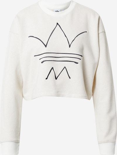 ADIDAS ORIGINALS Sweatshirt 'R.Y.V.' in Black / natural white, Item view