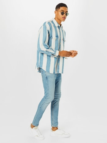 LEVI'S Jeans in blue denim