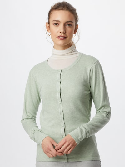 Soyaconcept Knit cardigan 'DOLLIE' in Pastel green: Frontal view