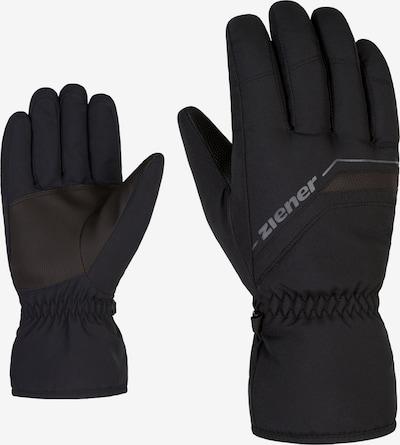 ZIENER Athletic Gloves 'GRUMAS' in Black, Item view