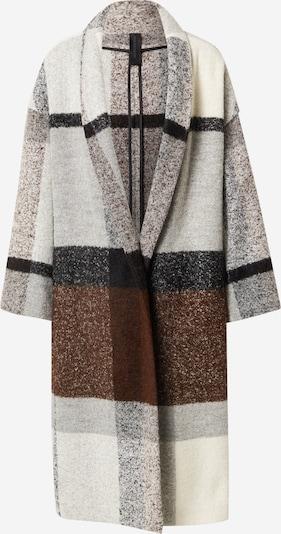 DRYKORN Between-Seasons Coat 'BAUPREY' in Cream / mottled brown / Grey, Item view