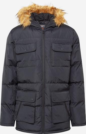 BRAVE SOUL Winterjas 'EVEREST' in de kleur Zwart, Productweergave