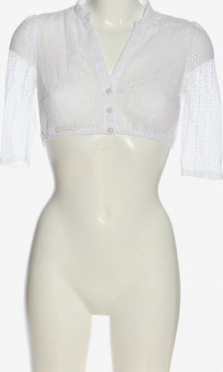 MARJO Cropped Shirt in XS in weiß, Produktansicht