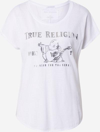 True Religion Shirt in de kleur Zilver / Wit, Productweergave