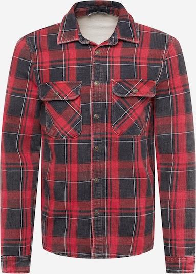 LTB Hemd 'Sandro' in rot / schwarz, Produktansicht