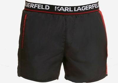 Karl Lagerfeld Badehose ' Boardshort ' in schwarz, Produktansicht