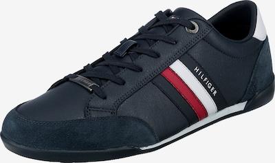 TOMMY HILFIGER Sneakers laag in de kleur Donkerblauw / Vuurrood / Wit, Productweergave