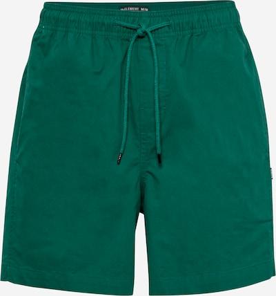 Pantaloni sport 'VACATION' ELEMENT pe verde, Vizualizare produs
