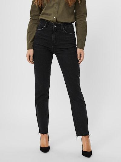 VERO MODA Džinsi 'Brenda' melns džinsa, Modeļa skats