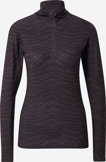 ENDURANCE Functional shirt 'Summer' in Aubergine / Black, Item view