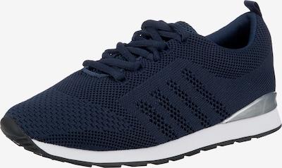 Lynfield Sneaker in dunkelblau / silber, Produktansicht