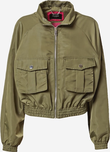 GUESS Jacke in oliv, Produktansicht
