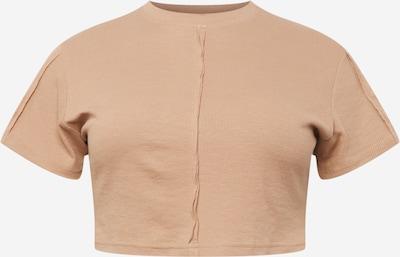 Public Desire Curve T-Krekls, krāsa - gaiši bēšs, Preces skats