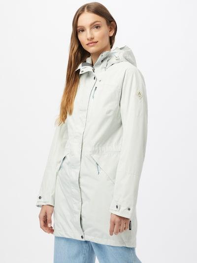 Schöffel Pitkä takki ulkoiluun 'Malmö' värissä valkoinen, Mallinäkymä