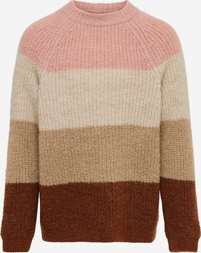 KIDS ONLY Pulover 'JADE' u boja pijeska / bež melange / smeđa / roza, Pregled proizvoda